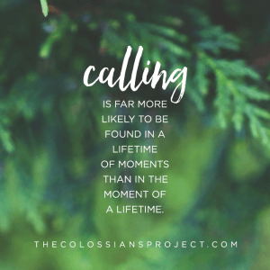 The sacred loneliness of calling. Colossians 4:10-11